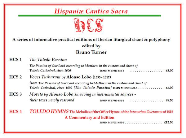 Hispaniae Cantica Sacra